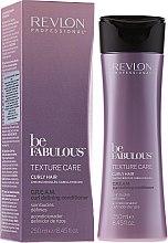 Düfte, Parfümerie und Kosmetik Haarspülung für lockiges Haar - Revlon Professional Be Fabulous Care Curly Conditioner