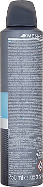 Deospray Antitranspirant - Dove Clean Comfort Men Anti-Perspirant Deodorant — Bild N3