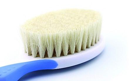 Haarstyling-Set für Babys weiß-blau - Nuvita (Haarbürste/1St. + Haarkamm/1St.) — Bild N2