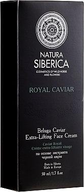 Extra-Lifting Gesichtscreme mit Beluga-Kaviar-Extrakt - Natura Siberica Absolut Beluga Cavia Extra-Lifting Face Cream — Bild N1