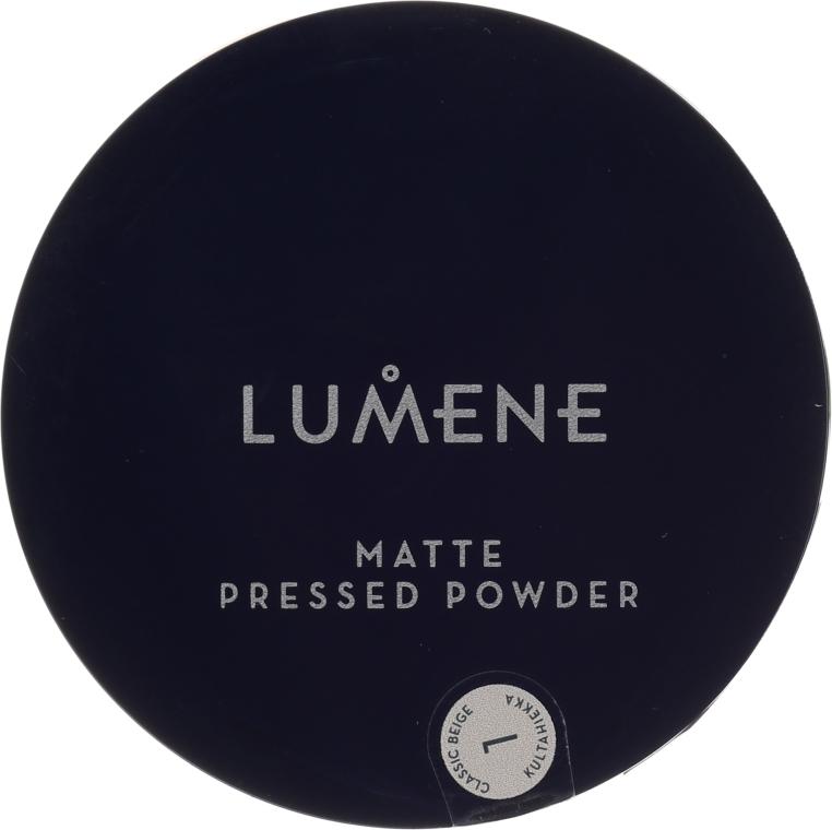 Mattierender Kompaktpuder - Lumene Matte Pressed Powder — Bild N1