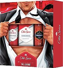 Düfte, Parfümerie und Kosmetik Old Spice Original Secret Agent - Duftset (Deodorant/150ml + Eau de Toilette/100ml + Duschgel/50ml)