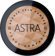 Düfte, Parfümerie und Kosmetik Bronzepuder - Astra Make-Up Bronze Skin Powder
