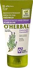 Düfte, Parfümerie und Kosmetik Konzentrierte und nährende Handcreme mit Lavendelextrakt - O'Herbal Hand Cream