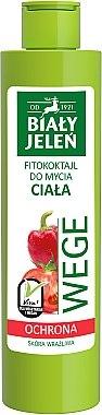 Veganes Duschgel mit Paprika und Tomate - Bialy Jelen Wege — Bild N1
