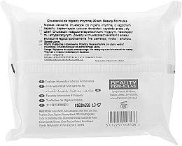 Intim-Pflegetücher mit Aloe Vera 20 St. - Beauty Formulas Feminine Intimate Hygiene Wipes — Bild N2