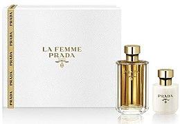 Düfte, Parfümerie und Kosmetik Prada La Femme Prada - Duftset (Eau de Parfum 50ml + Körperlotion 100ml)