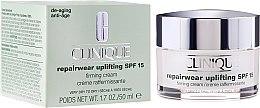 Düfte, Parfümerie und Kosmetik Intensive regenrerierende Gesichtscreme für trockene Haut - Clinique Repairwear Uplifting Firming Cream SPF 15