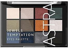 Düfte, Parfümerie und Kosmetik Lidschattenpalette - Astra Make-up The Temptation Palette