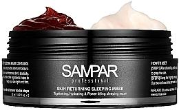 Feuchtigkeitsspendende und regenerierende 2in1 Nachtmaske für das Gesicht mit Rosenblättern - Sampar Skin Returning Sleeping Mask — Bild N2