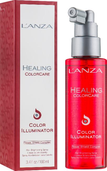 Farbschutz-Haarspray für mehr Glanz - L'anza Healing ColorCare Color Illuminator — Bild N1