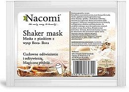 "Düfte, Parfümerie und Kosmetik Alginat-Gesichtsmaske ""Bora Bora"" - Nacomi Shaker Mask"