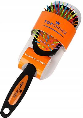 Haarbürste schwarz-orange 63978 - Top Choice — Bild N1