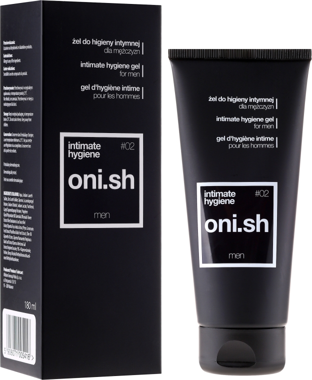 Gel für die Intimhygiene - Oni.sh Men Intimate Hygiene Gel — Bild N1