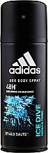 Düfte, Parfümerie und Kosmetik Adidas Ice Dive - Deospray