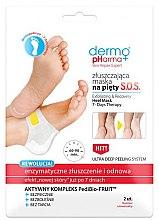 Düfte, Parfümerie und Kosmetik Enzymatische und erneuernde Peelingmaske für die Fersen - Dermo Pharma Skin Repair Expert
