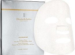 Düfte, Parfümerie und Kosmetik Glättende und verjüngende Tuchmaske mit Hyaluronsäure und Probiotika - Elizabeth Arden Superstart Probiotic Boost Skin Renewal Bio Cellulose Mask