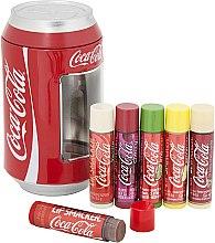 "Lippenbalsam-Set ""Coca-Cola"" - Lip Smacker Coca-Cola Mix Tin Box (Lippenbalsam/6x4g) — Bild N1"