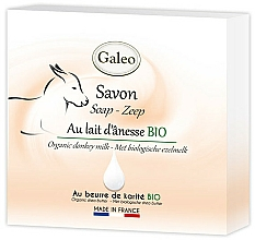 Düfte, Parfümerie und Kosmetik Seife mit Eselsmilch - Galeo Soap Organic Donkey Milk