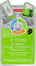 Düfte, Parfümerie und Kosmetik Feuchtigkeitsspendende 3-Schritt-Gesichtspflege - Purederm 3-Step Extreme Pore Hydrating Treatment