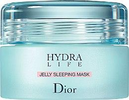 Düfte, Parfümerie und Kosmetik Feuchtigkeitsspendende Gelmaske für die Nacht - Dior Hydra Life Jelly Sleeping Mask