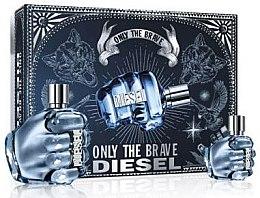 Düfte, Parfümerie und Kosmetik Diesel Only The Brave - Duftset (Eau de Toilette 125ml + Eau de Toilette 35ml)
