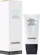 Düfte, Parfümerie und Kosmetik Reinigende Anti-Stress Maske - Chanel Precision Masque Destressant Purete