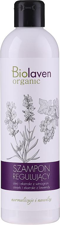 Normalisierendes und feuchtigkeitsspendendes Shampoo mit Lavendel und Weintraube - Biolaven Organic — Bild N1