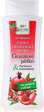 Make-up Entferner mit Granatapfel, Panthenol und Antioxidantien - Bione Cosmetics Pomegranate Protective Cleansing Make-up Removal Facial Lotion With Antioxidants — Bild N1