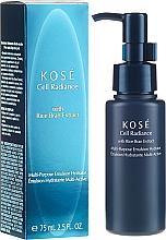 Düfte, Parfümerie und Kosmetik Feuchtigkeitsspendende Gesichtsemulsion mit Reiskleie-Extrakt - Kose Cellular Radiance Multi-Purpose Emulsion Hydrator