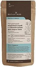 Düfte, Parfümerie und Kosmetik Natürliches Körperpeeling mit Salz und Zedern für fettige und problematische Haut - Botavikos