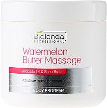 Düfte, Parfümerie und Kosmetik Massagebutter für den Körper mit Wassermelone, Avokadoöl und Sheabutter - Bielenda Professional Watermelon Body Butter Massage