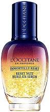 Düfte, Parfümerie und Kosmetik Nachtelixier für das Gesicht - L'Occitane Immortelle Overnight Reset Oil-In-Serum