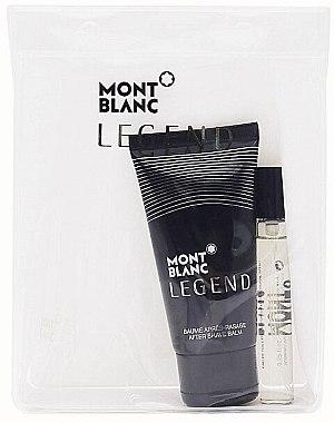 Montblanc Legend - Duftset (Eau de Toilette 7.5ml + ash balm 50ml) — Bild N1