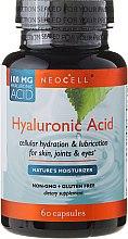 Düfte, Parfümerie und Kosmetik Hyaluronsäure 100 mg 60 Kapseln - NeoCell Hyaluronic Acid