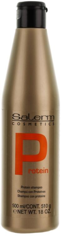 Pflegendes Protein-Shampoo mit Keratin - Salerm Linea Oro Shampoo Protein — Bild N5