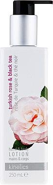 Hand- und Körperlotion mit türkischer Rose und schwarzem Tee - Kinetics Turkish Rose & Black Tea Lotion — Bild N1