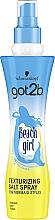 Düfte, Parfümerie und Kosmetik Texturierendes Salz-Haarspray mit Strand-Wellen Effekt - Schwarzkopf Got2b Beach Girl Texturizing Salt Spray