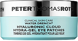Düfte, Parfümerie und Kosmetik Feuchtigkeitsspendende Hydrogel-Augenpatches mit Hyaluronsäure - Peter Thomas Roth Water Drench Hydro-Gel Eye Patches