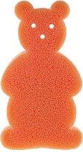 Düfte, Parfümerie und Kosmetik Kinder Badeschwamm Bär orange - Top Choice