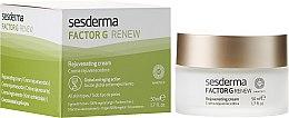 Düfte, Parfümerie und Kosmetik Regenerierende Anti-Aging Creme für alle Hauttypen - SesDerma Laboratories Factor G Anti-Aging Regenerating Facial Cream