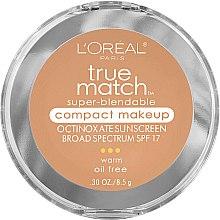 Düfte, Parfümerie und Kosmetik Gesichtspuder - L'Oreal Paris True Match Super-Blendable Compact Makeup SPF 17