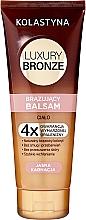 Düfte, Parfümerie und Kosmetik Bräunungsbalsam für helle Haut - Kolastyna Luxury Bronze Balm