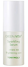 Düfte, Parfümerie und Kosmetik Aufhellendes und feuchtigkeitsspendendes Gesichtsserum mit Vitamin C - Tony Moly Green Vita C Sparkling Serum