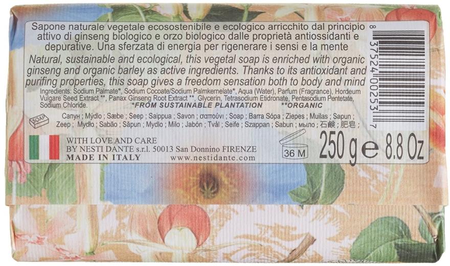 Naturseife Ginseng & Barley - Nesti Dante Vegetable Soap Bio Natura Collection — Bild N2