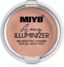 Düfte, Parfümerie und Kosmetik Illuminierender Puder - Miyo Illuminizer Highlighting Powder