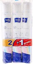 Düfte, Parfümerie und Kosmetik Wattepad-Set - Bella Cotton (Wattepads 3x120 St.)