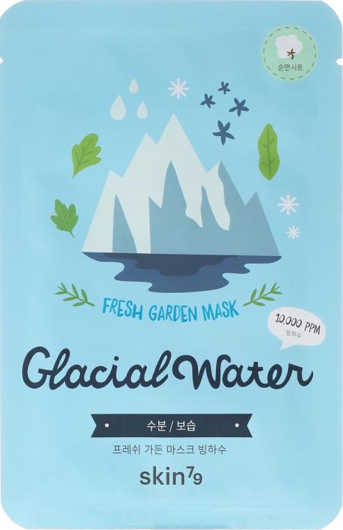 Erfrischende Tuchmaske für das Gesicht mit Eiswasser - Skin79 Fresh Garden Mask Glacial Water — Bild N1