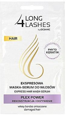 Nährendes Haarmaske-Serum - AA Cosmetics Long 4 Lashes Plex Power — Bild N1