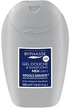 Düfte, Parfümerie und Kosmetik 2in1 Duschgel-Shampoo für Männer - Byphasse Men Shower Gel-Shampoo 2in1 Groovy Paradise